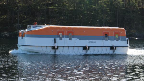 Palfinger Marine - MPC-49 Lifeboat
