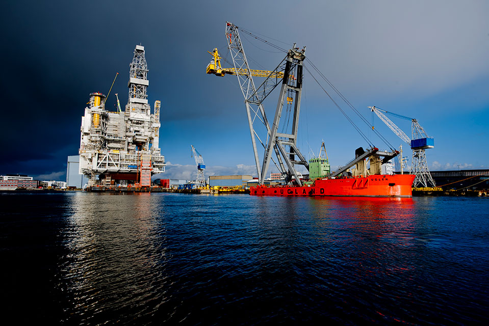 New cranes for Johan Sverdrup