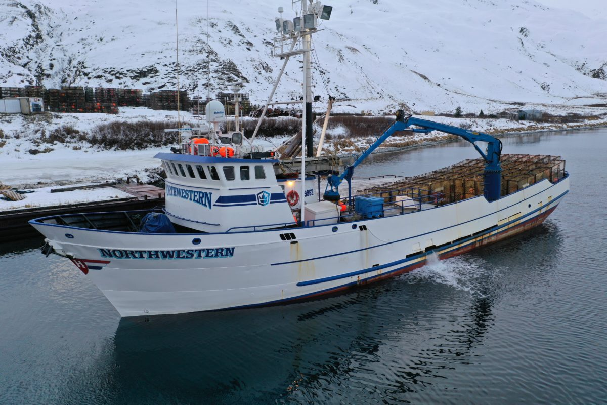 New crane for a crab-fishing celebrity