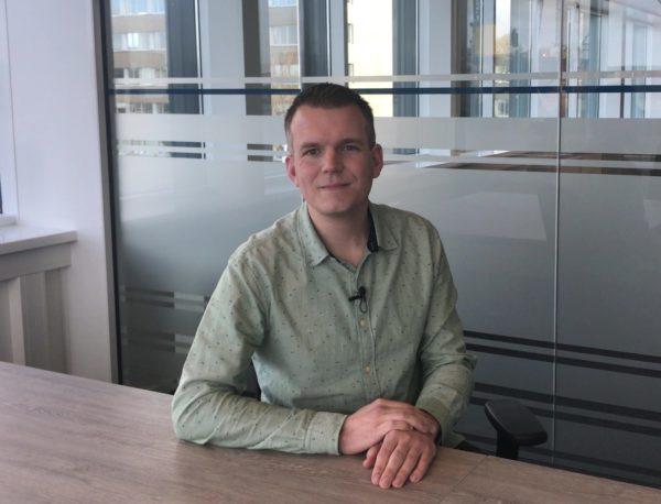 Maurice Haring, PALFINGERs Sales Coordinator for Cranes