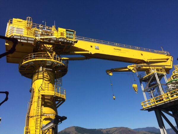 PALFINGER offshore crane for FPSO