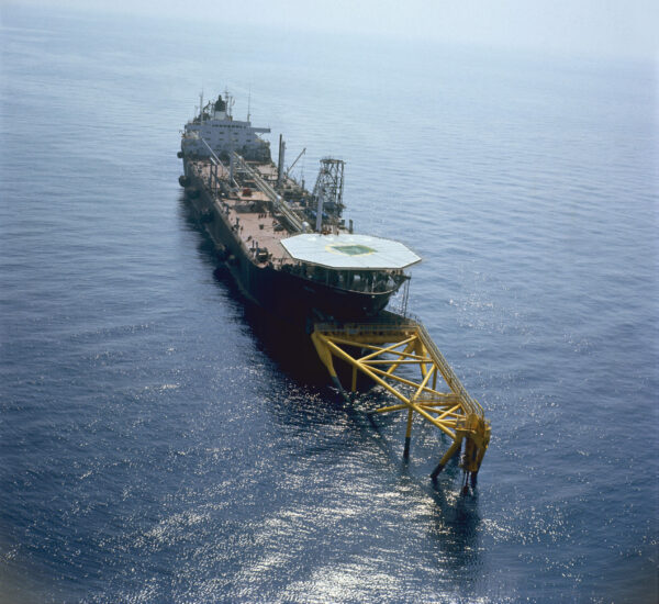 World's first FPSO, deployed to Shell's Castellon oil field
