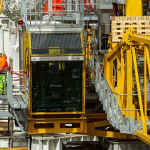 Moving a 200-ton crane was a major challenge PALFINGER successfully mastered true to our motto of creating value together.